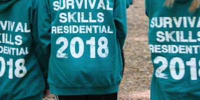 Year 8 Survival Skills Trip 2018